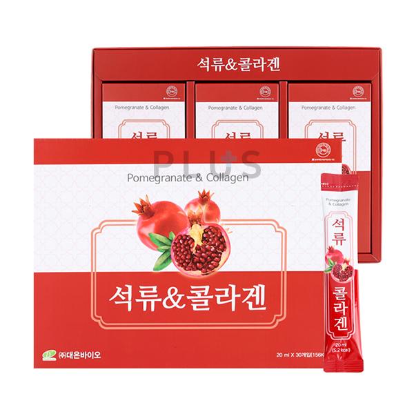 이미지_대은바이오 석류&콜라겐 600 ml (20 ml x 30포) 쇼핑백제공 [A0447]