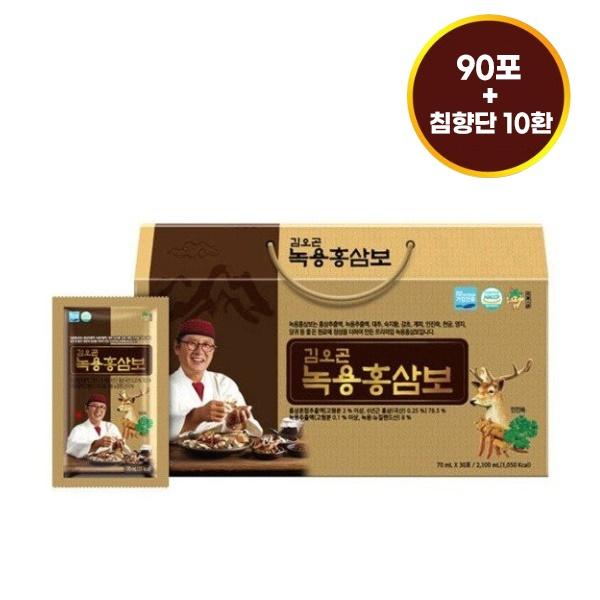 이미지_[9/23부터 순차배송] 김오곤 녹용홍삼보 농축액 90포 + 천삼침향단10환